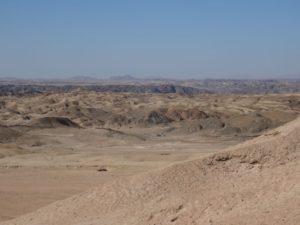 Das Moon Valley. Steine statt Sand.