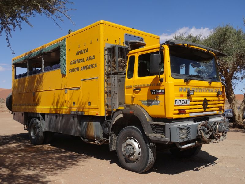 Reise-Truck. London-Kapstadt-Kairo in 40 Wochen.