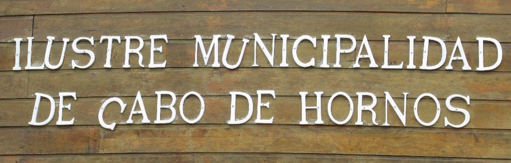 Die berühmte Gemeinde Kap Horn...