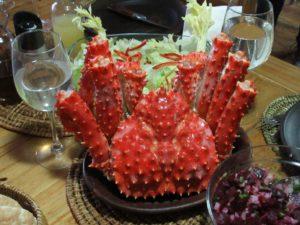Hostel-Essen der besonderen Art: Centollas