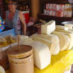 Käse und Dulce de Leche. Pikant und eklig süß